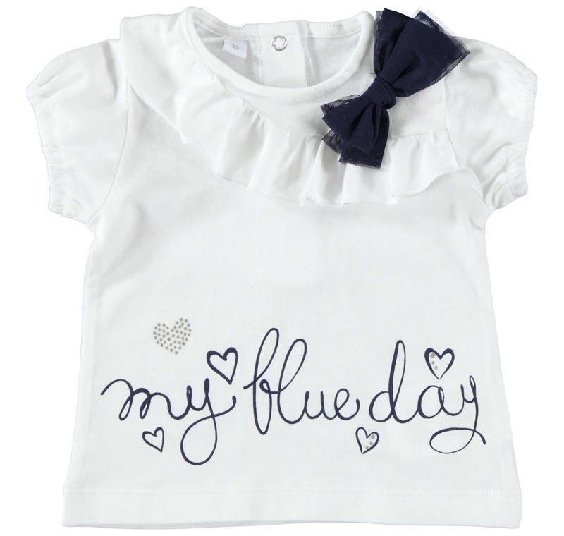 Бебешка блуза с късо ръкавче iDO 0004W632