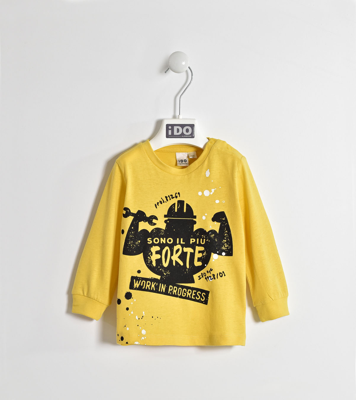 Детска памучна блуза IDO 0004W215