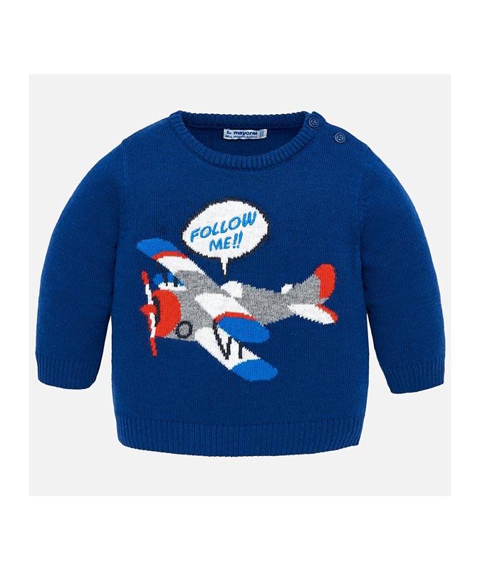 Удобен бебешки пуловер Mayoral 0002326