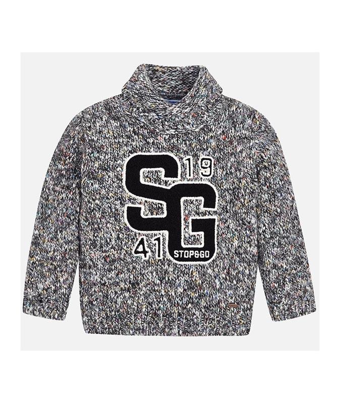 Плетен детски пуловер Mayoral 0004312