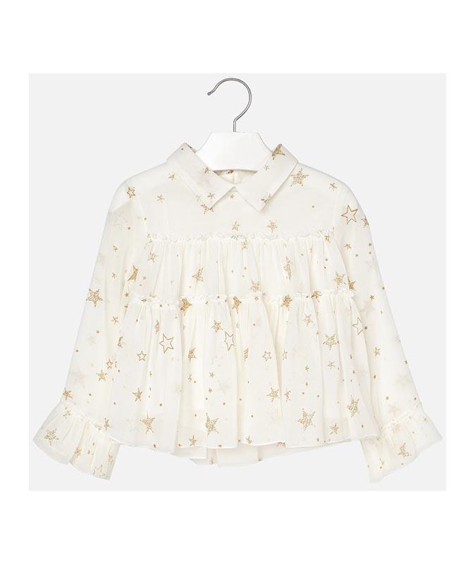 Ефирна детска риза Mayoral 0004128