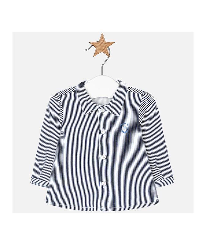 Бебешка памучна риза Mayoral 0002102
