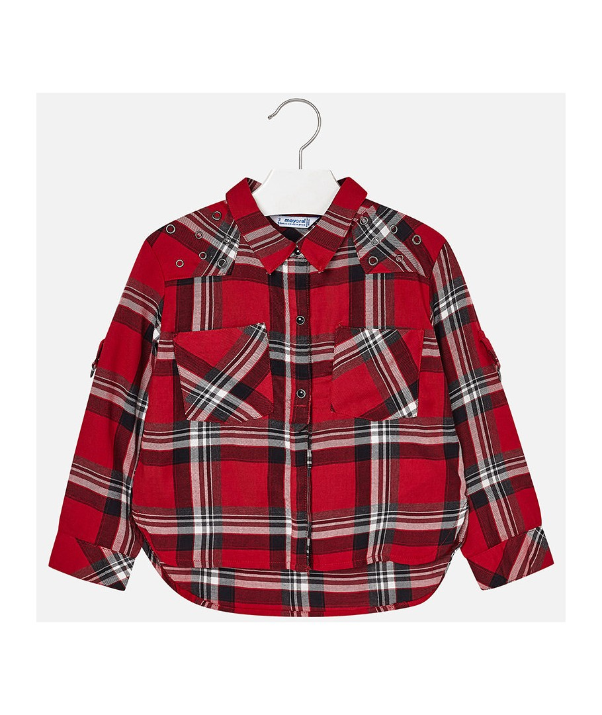 Стилна детска риза Mayoral 0004126