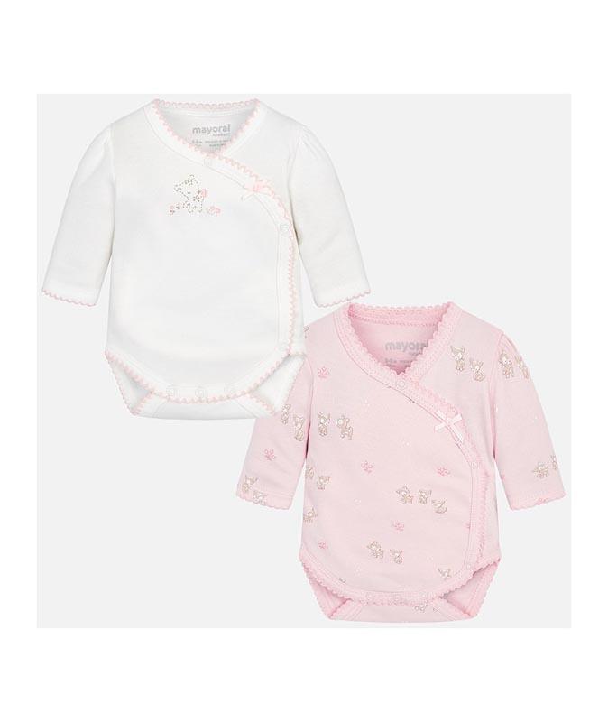 Комплект бебешки бодита Mayoral 0002718