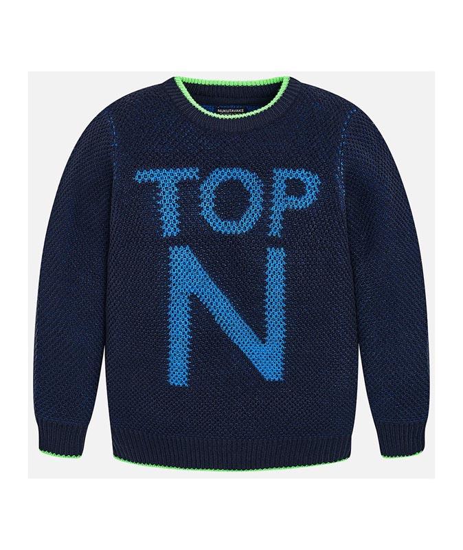 Детски удобен пуловер Mayoral 0007308
