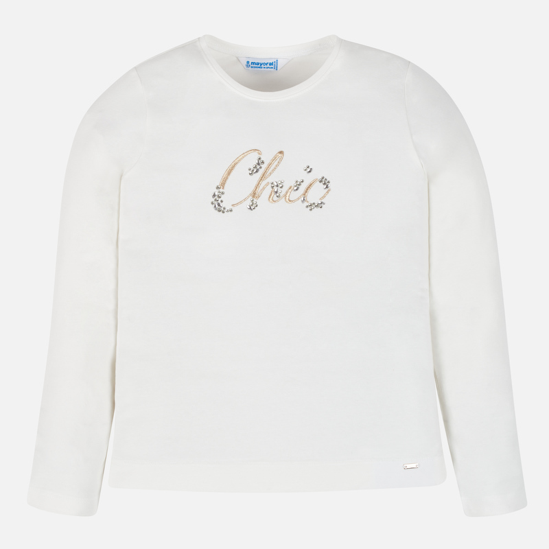 Детска памучна блуза Mayoral 000830