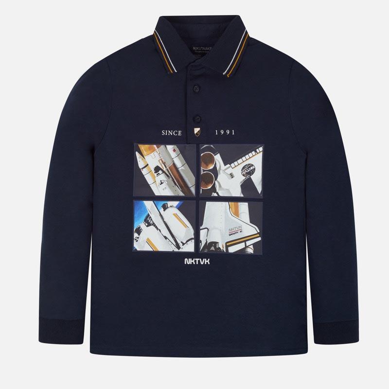 Стилна детска поло блуза Mayoral 0007113