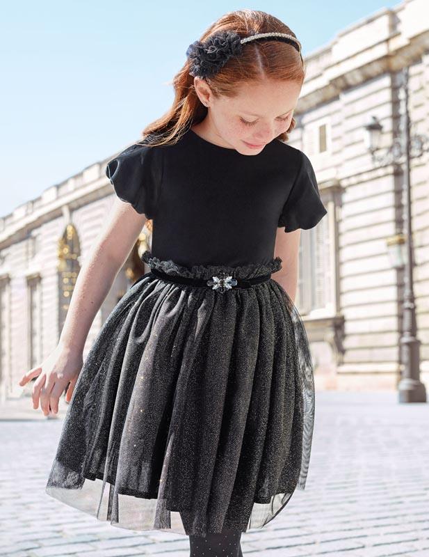 Детска елегантна рокля Abel & Lula 0005503