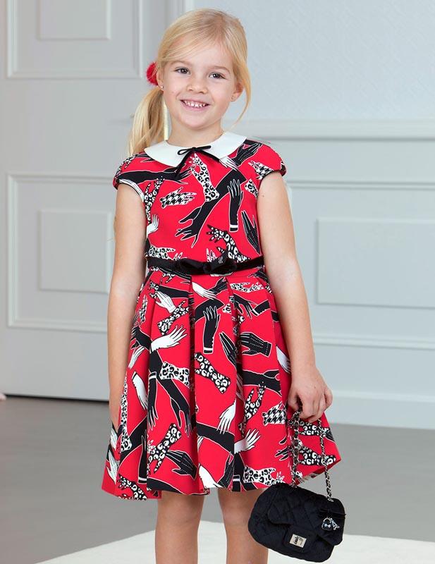 Детска елегантна рокля Abel & Lula 0005537
