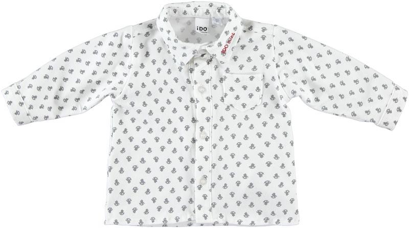 Бебешка памучна риза iDO 0004K269