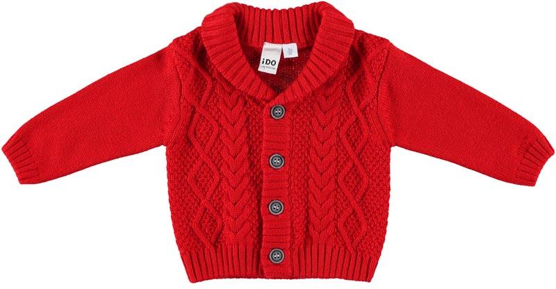 Бебешка плетена жилетка iDO 0004K274