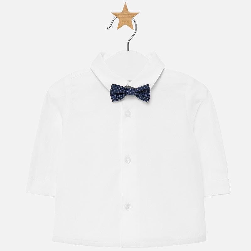Бебешка елегантна риза с папийонка Mayoral 0002102