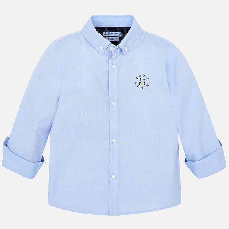 Детска памучна риза Mayoral 0004120