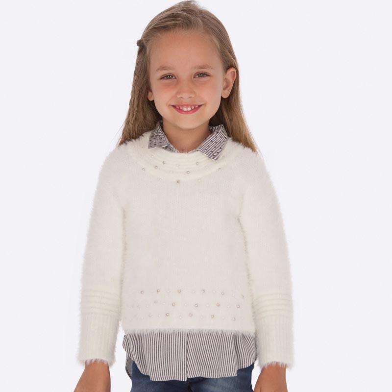 Детски пуловер от косъм Mayoral 0004301