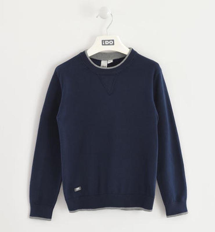 Детски плетен пуловер iDO 0004K798