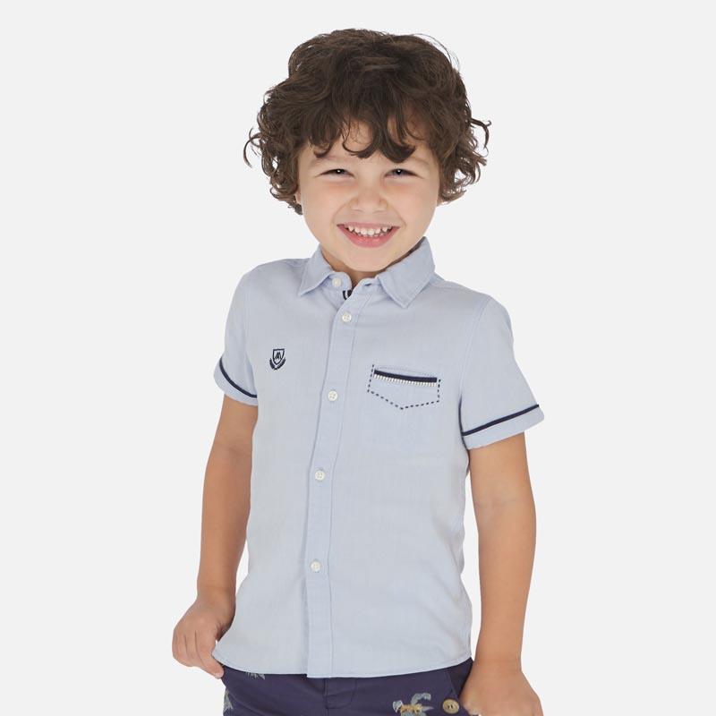 Красива риза с къс ръкав Mayoral 3163