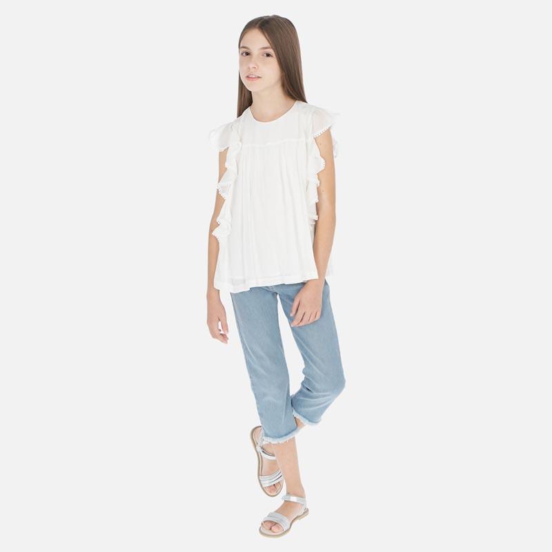 Дълъг дънков панталон slim Mayoral 6536