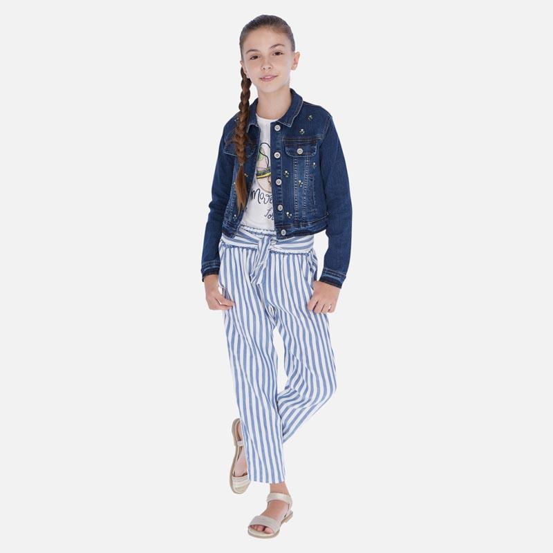 Раиран дълъг панталон от лен Mayoral 6534