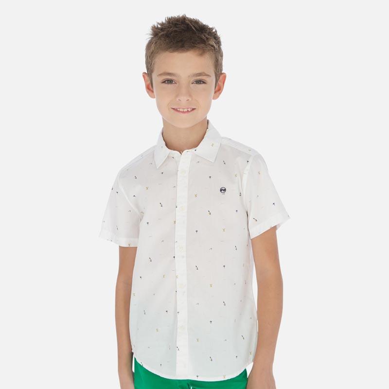 Елегантна риза с микро щампи Mayoral 6152