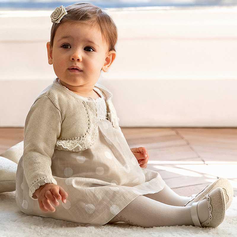 Стилно болеро за новородено момиче Mayoral 1317