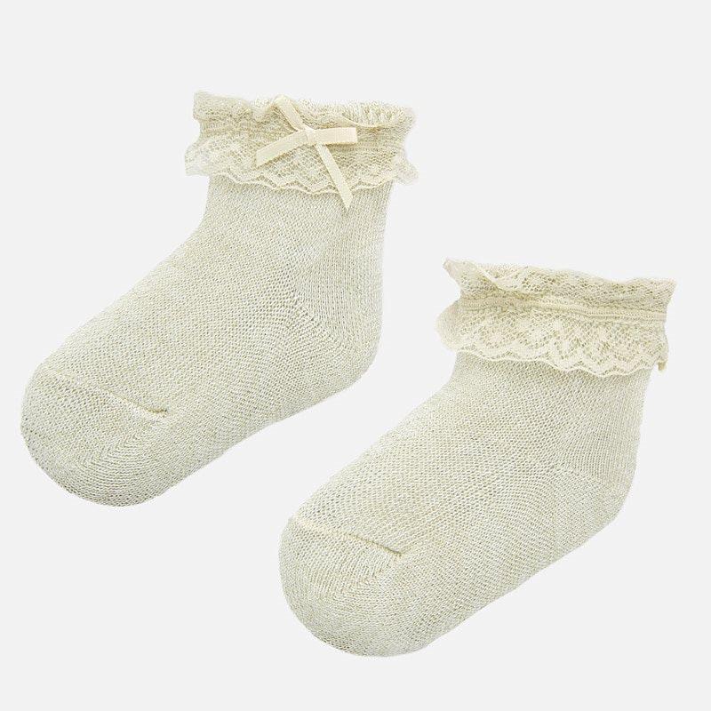 Официални бебешки чорапки с панделка Mayoral 9246