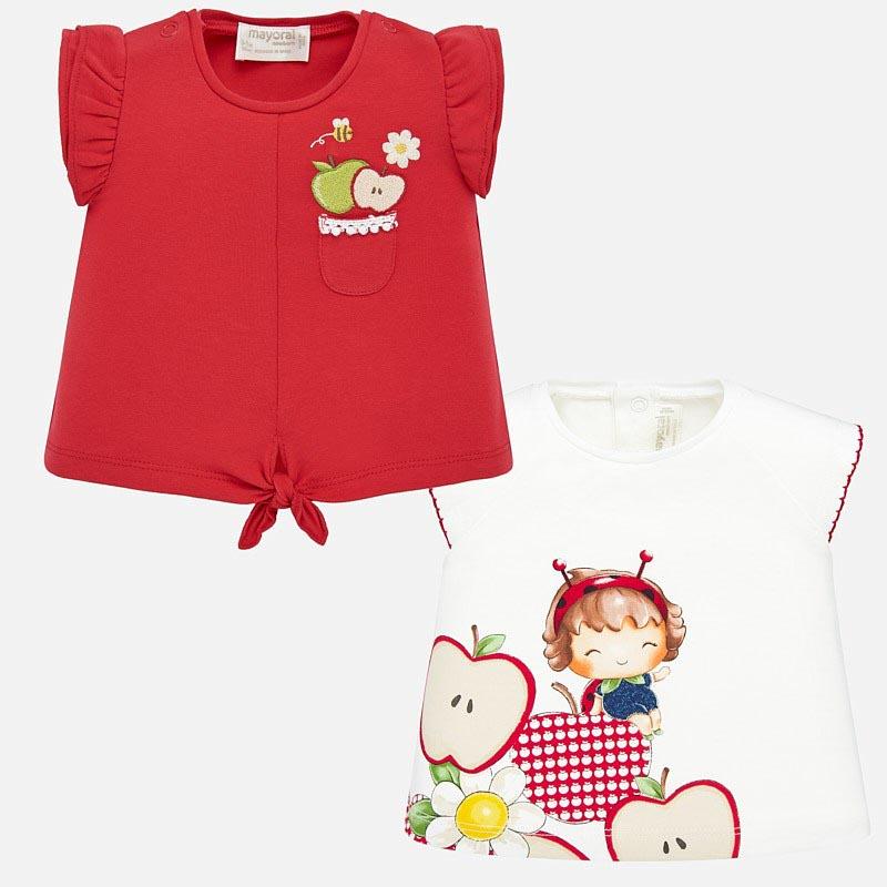 Комплект блузки с цветя Mayoral 1033