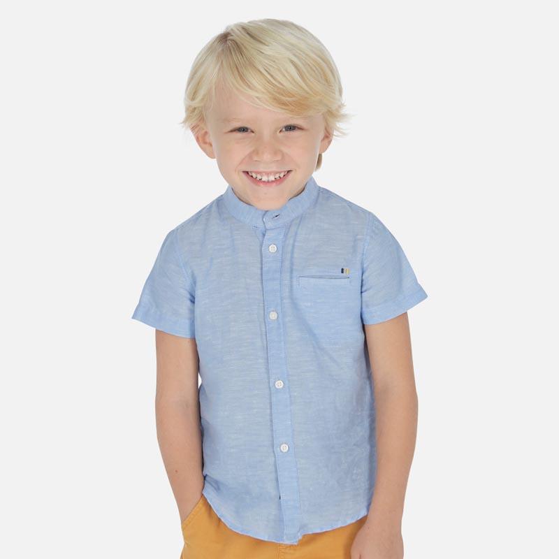 Стилна риза с къс ръкав за момче Mayoral 3161