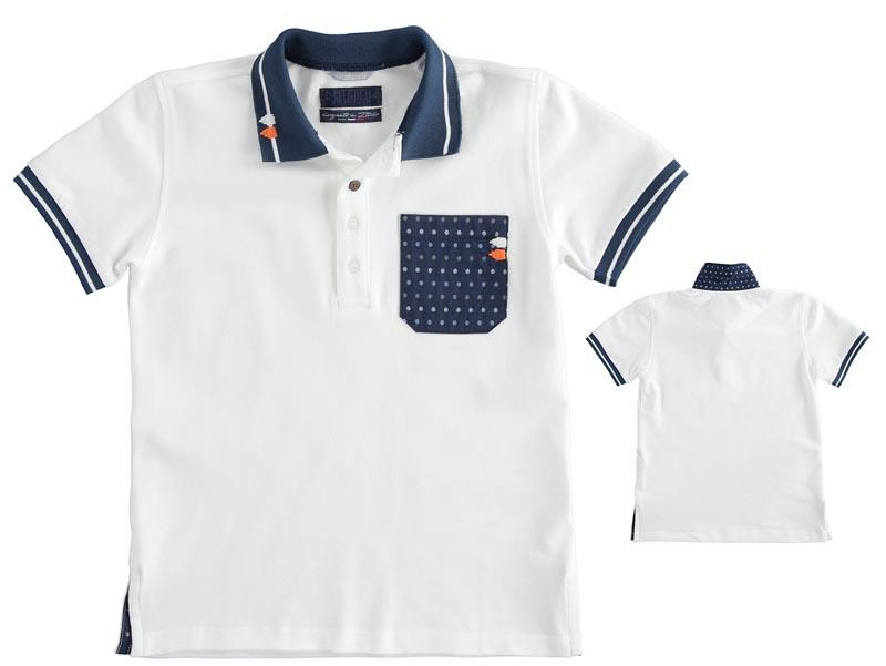 Стилна детска поло блуза Sarabanda 0J626