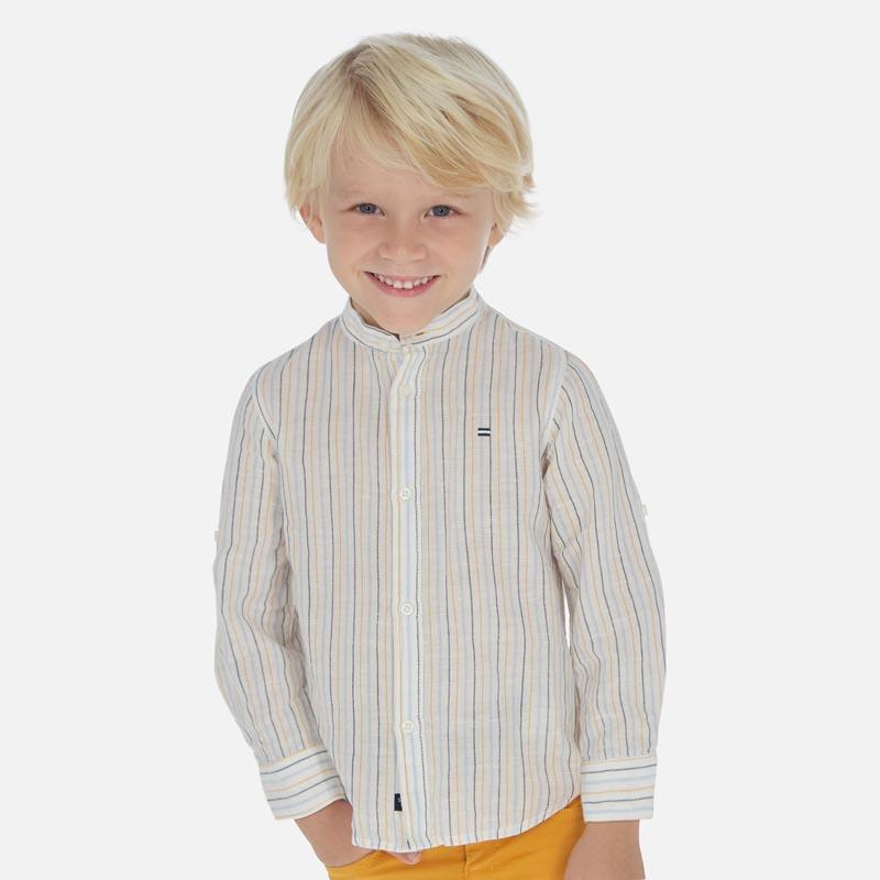 Ленена риза с дълъг ръкав за момче Mayoral 3170