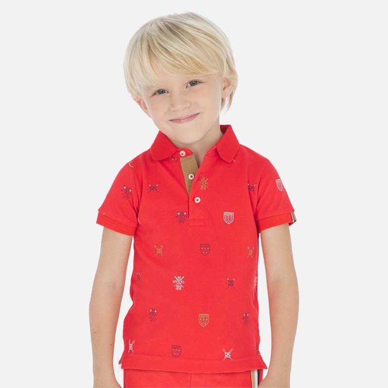 Красива поло тениска Mayoral 3152