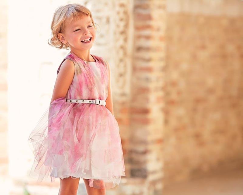 Нежна детска рокля Sarabanda 0J5711