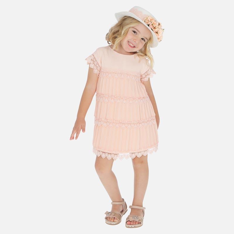 Красива детска рокля солей Mayoral 3917