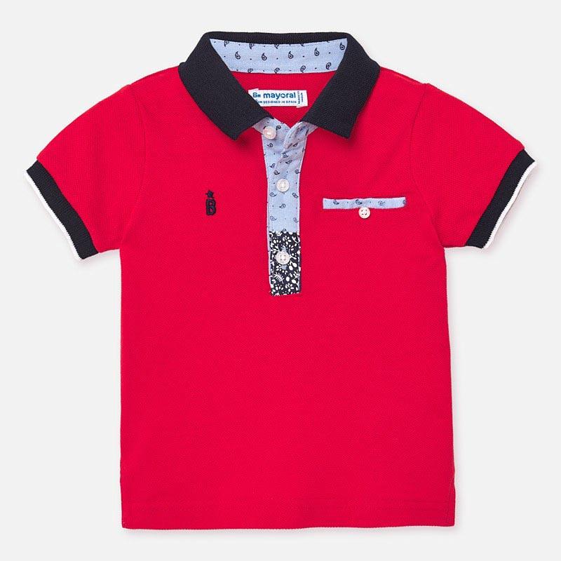 Свежа тениска за бебе момче Mayoral 1146