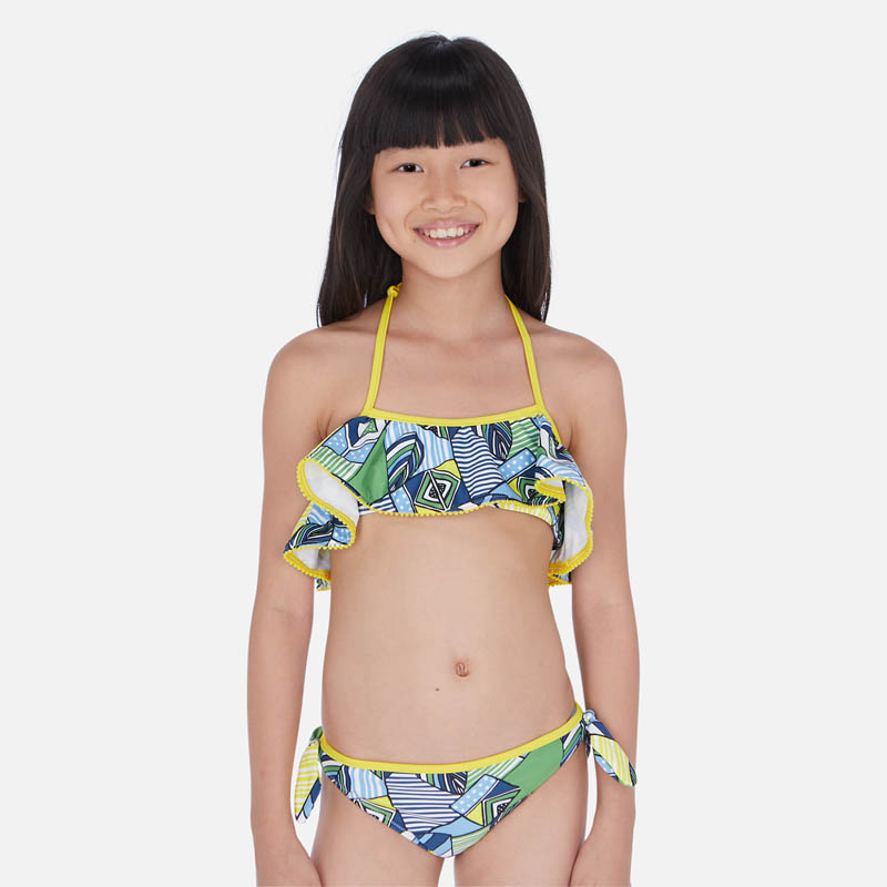 Красив бански костюм за момиче Mayoral 6723