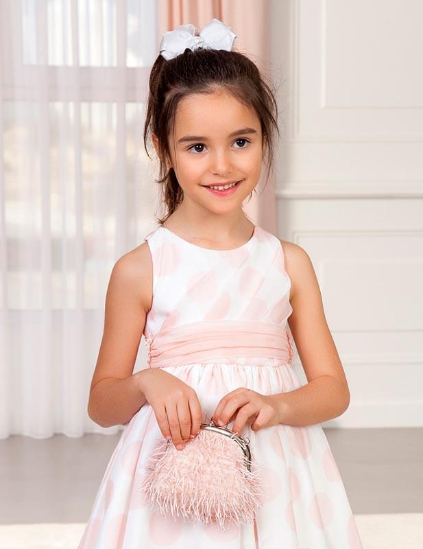 Детска чанта с ресни Abel and Lula 5436
