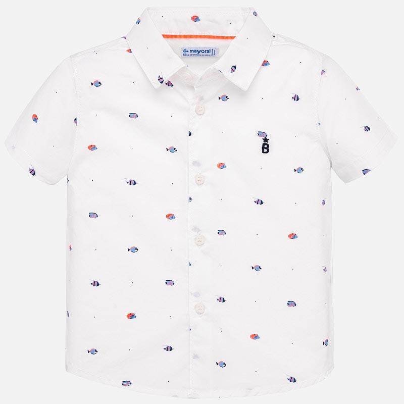 Стилна риза за бебе момче Mayoral 1159