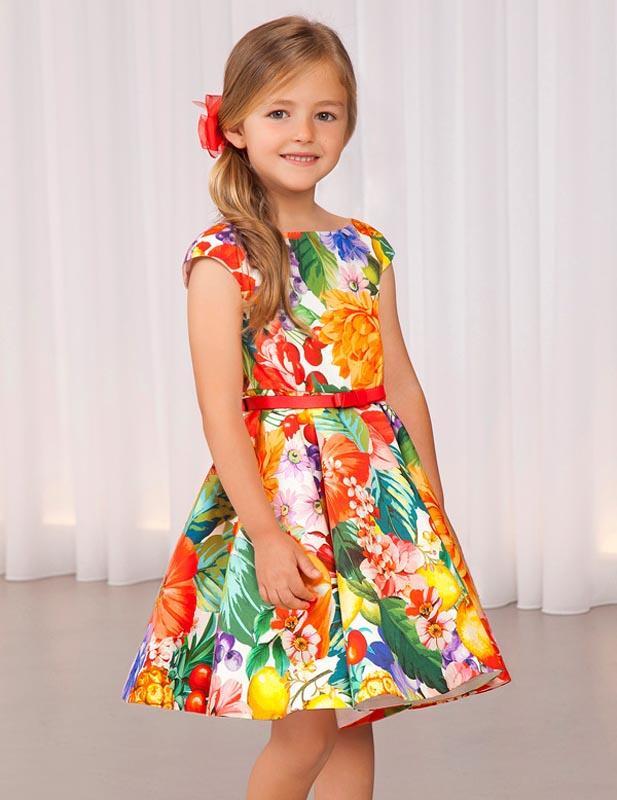 Стилна сатенена рокля Abel and Lula 5032