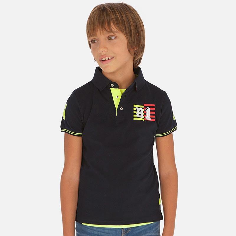 Детска стилна поло тениска Mayoral 6144