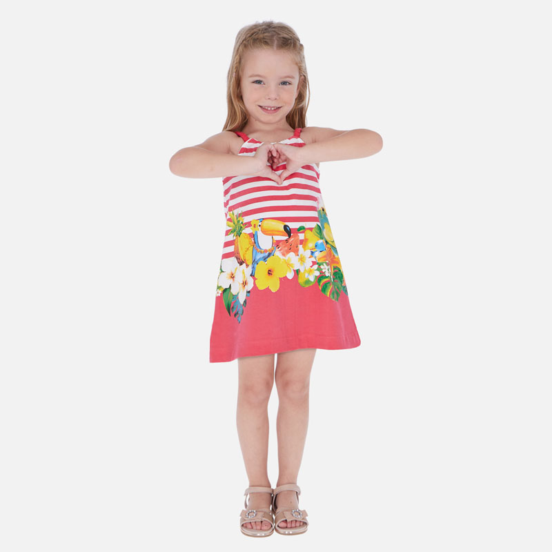 Красива лятна рокля с презрамки Mayoral 3961
