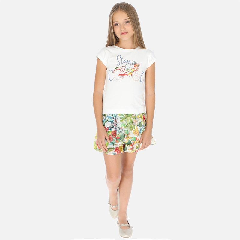 Детска красива пола-панталон Mayoral 6958