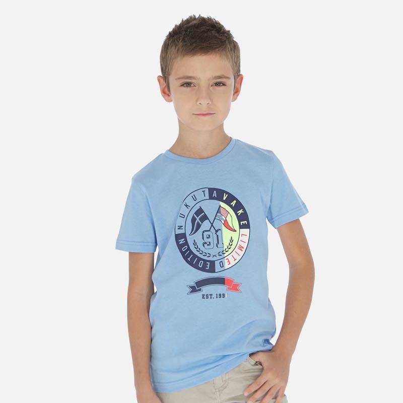 Удобна блуза с къс ръкав за момче Mayoral 6069