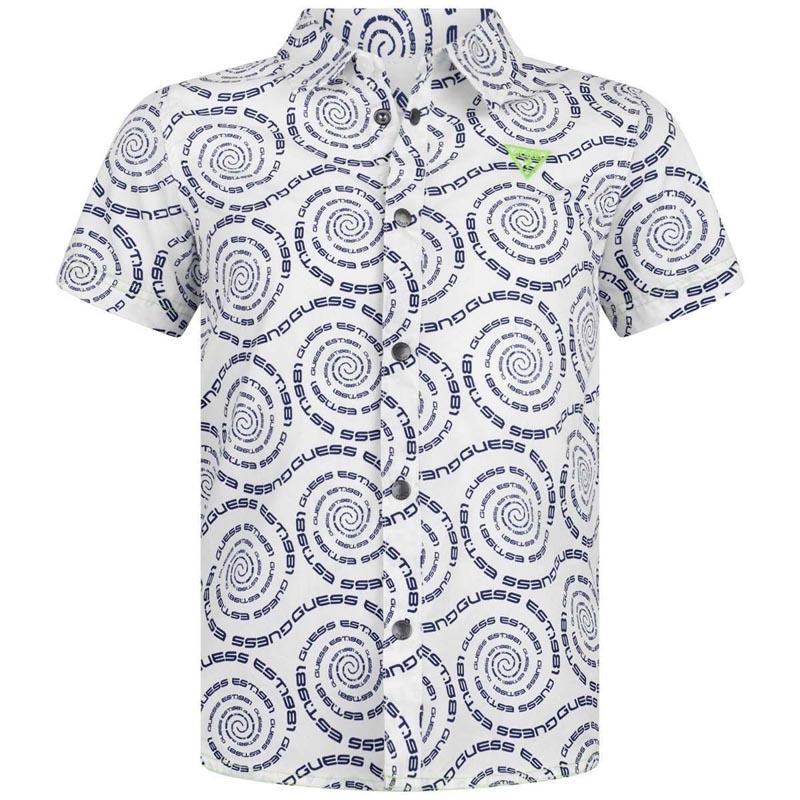 Детска спортна риза Guess N02H05WCSI0