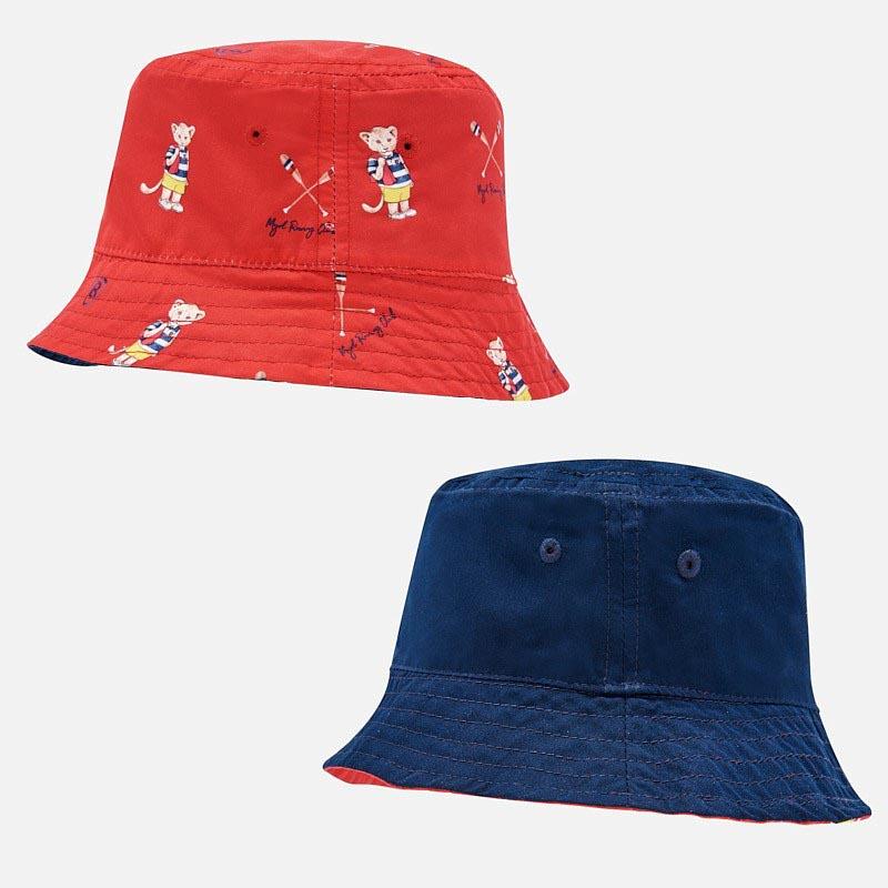 Двулицева шапка за момче Mayoral 10742