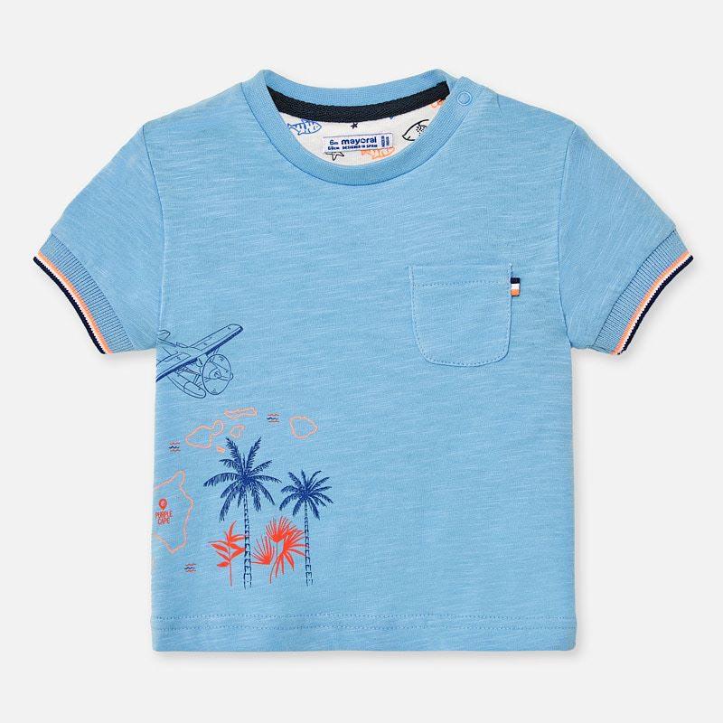Свежа тениска за бебе момче Mayoral 1050