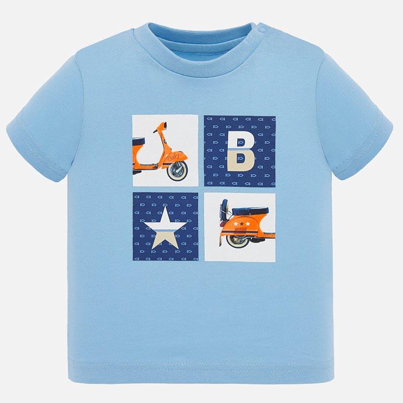 Свежа тениска за бебе момче Mayoral 1052