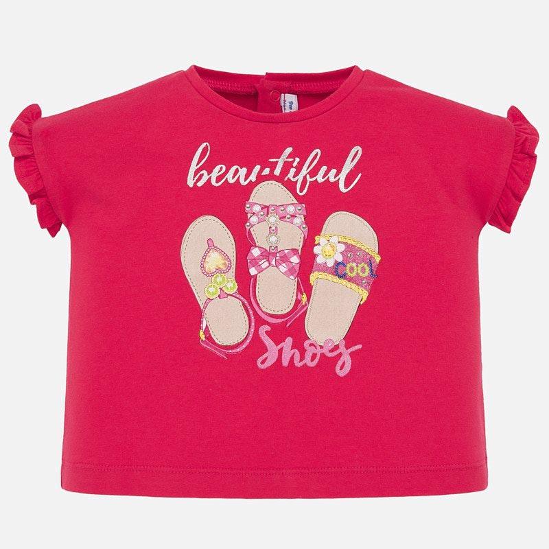 Красива бебешка тениска за момиче Mayoral 1064
