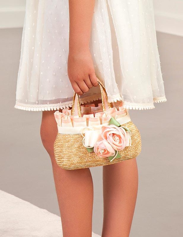 Красива чанта в стил кошница Abel and Lula 5438