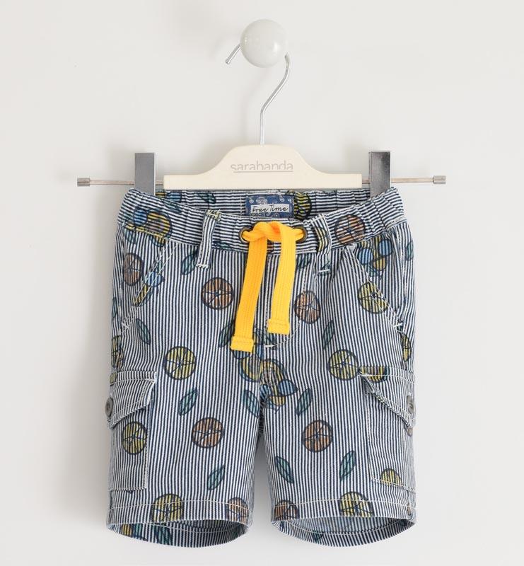 Цветен детски къс панталон Sarabanda 0J539