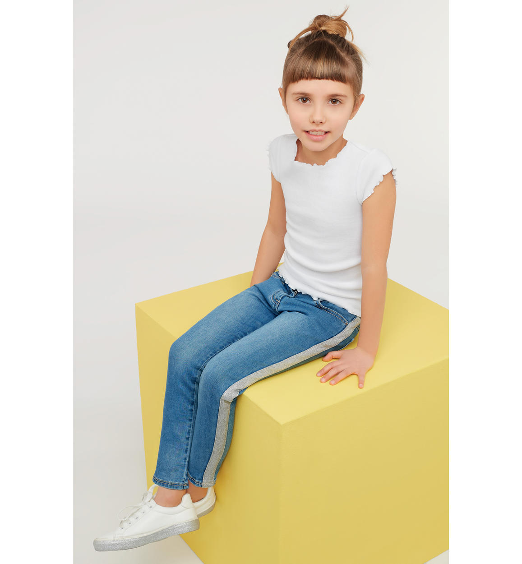Детски стилни дънки iDO 4J529