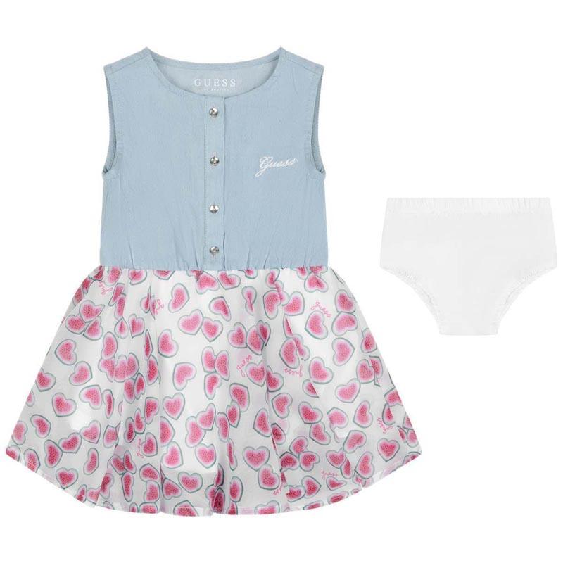 Ефирна бебешка рокля Guess A02K17WBVR0